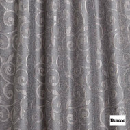 Resene Lyrical 137cm - Stone  | Curtain Fabric - Brown, Floral, Garden, Botantical, Uncoated, Scroll, Pattern, Standard Width