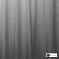 Maurice Kain Makassar 300cm - Charcoal  | Curtain Sheer Fabric - Fire Retardant, Black, Charcoal, Stripe, Wide-Width, Pattern