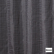Resene Meander 280cm - Charcoal  | Curtain Sheer Fabric - Black, Charcoal, Contemporary, Stripe, Wide-Width, Plisse