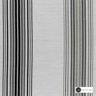 Maurice Kain National 140cm - Charcoal  | Curtain Fabric - Black, Charcoal, Contemporary, Stripe, Uncoated, Fibre Blend, Standard Width