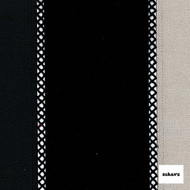 Sekers Pizazz 140cm - Noir  | Curtain Fabric - Black, Charcoal, Contemporary, Stripe, Uncoated, Standard Width