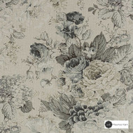 Maurice Kain Sherwood 137cm - Grove  | Curtain Fabric - Tan, Taupe, Floral, Garden, Botantical, Traditional, Uncoated, Shabby Chic, Natural