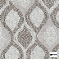 Resene Silhouette 136cm - Stone  | Curtain Fabric - Beige, Uncoated, Geometric, Ogee, Standard Width
