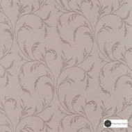 Maurice Kain Stratford 140cm - Ceramic  | Curtain Fabric - Pink, Purple, Floral, Garden, Botantical, Traditional, Uncoated, Natural, Scroll, Pattern