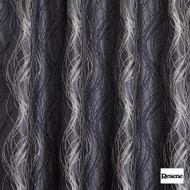 Resene Tease 137cm - Charcoal  | Curtain Fabric - Black, Charcoal, Contemporary, Stripe, Uncoated, Standard Width