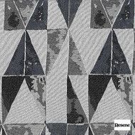 Resene Trilogy 140cm - Charcoal  | Curtain Fabric - Black, Charcoal, Contemporary, Uncoated, Geometric, Abstract, Triangles, Pattern, Standard Width