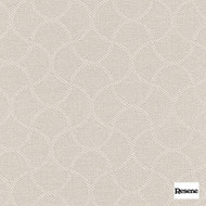 Resene Wave 140cm - Blonde  | Curtain Fabric - Mediterranean, Uncoated, Whites, Lattice, Trellis, Ogee, Pattern, Standard Width