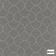 Resene Wave 140cm - Stone  | Curtain Fabric - Grey, Mediterranean, Uncoated, Lattice, Trellis, Ogee, Pattern, Standard Width