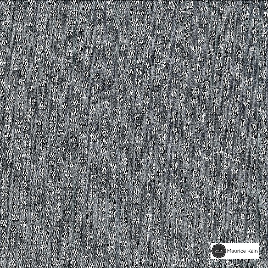 Maurice Kain Wembley 137cm - Shale  | Curtain Fabric - Grey, Contemporary, Blockout, Blackout, Pattern, Fibre Blend, Standard Width