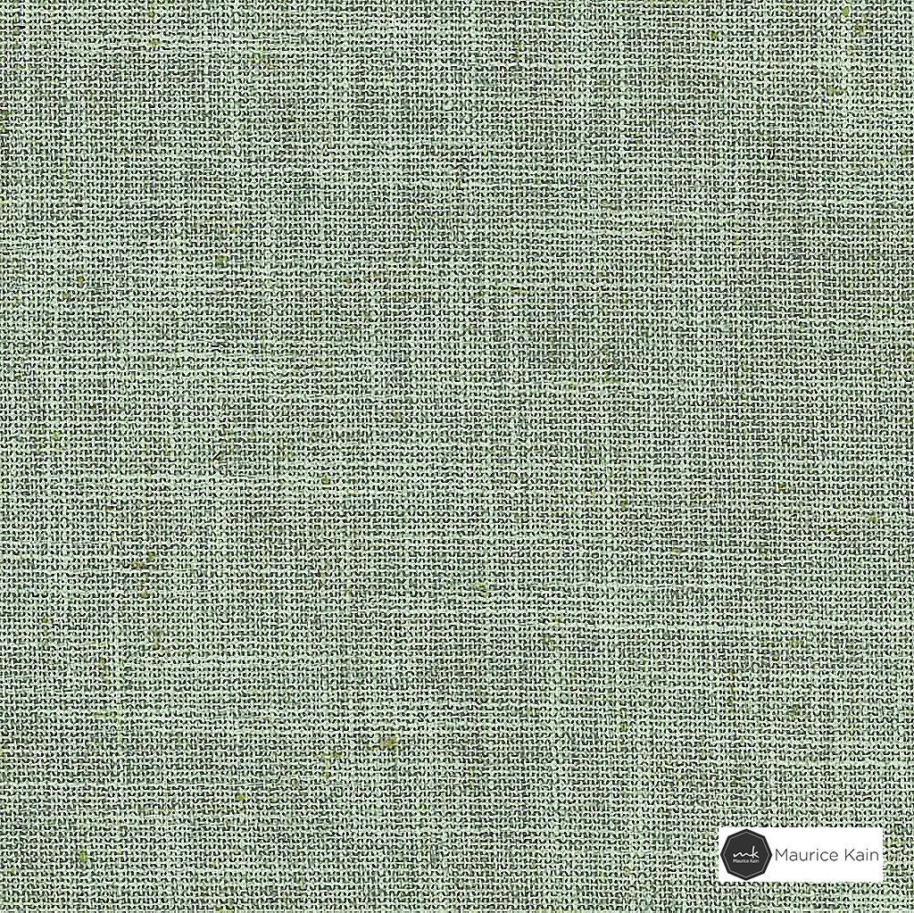Maurice Kain Weylands 280cm - Seafom  | Curtain Fabric - Green, Wide-Width, Blockout, Blackout, Plain