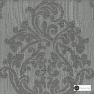 Maurice Kain Wimbledon 137cm - Steel  | Curtain Fabric - Grey, Floral, Garden, Botantical, Traditional, Blockout, Blackout, Jacobean, Damask, Rococo