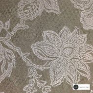 Maurice Kain Windermere 137cm - Flint  | Curtain Fabric - Brown, Floral, Garden, Botantical, Traditional, Blockout, Blackout, Jacobean, Standard Width