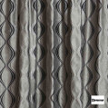 Resene Xpressions 136cm - Charcoal  | Curtain Fabric - Black, Charcoal, Contemporary, Stripe, Uncoated, Ogee, Standard Width