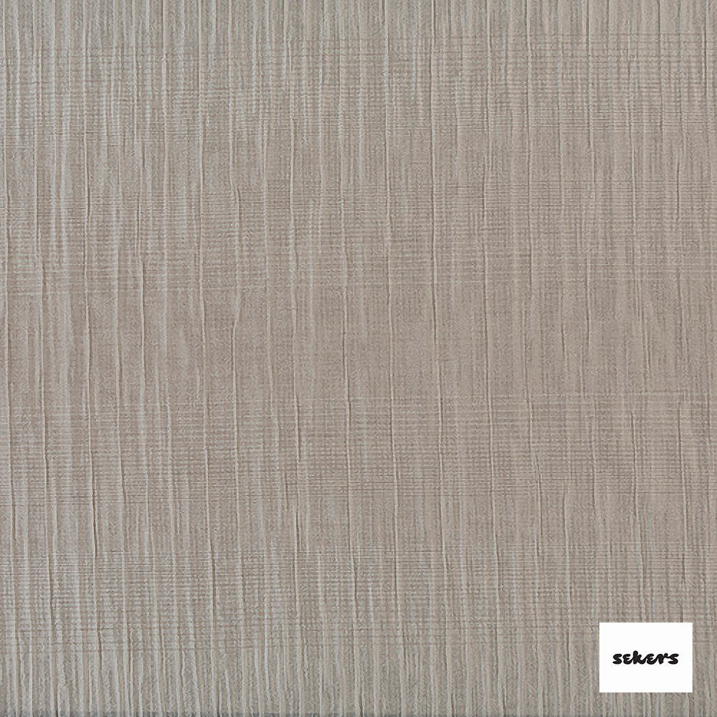 Sekers Zelos 140cm - Creampuff  | Curtain Fabric - Beige, Contemporary, Stripe, Uncoated, Fibre Blend, Standard Width