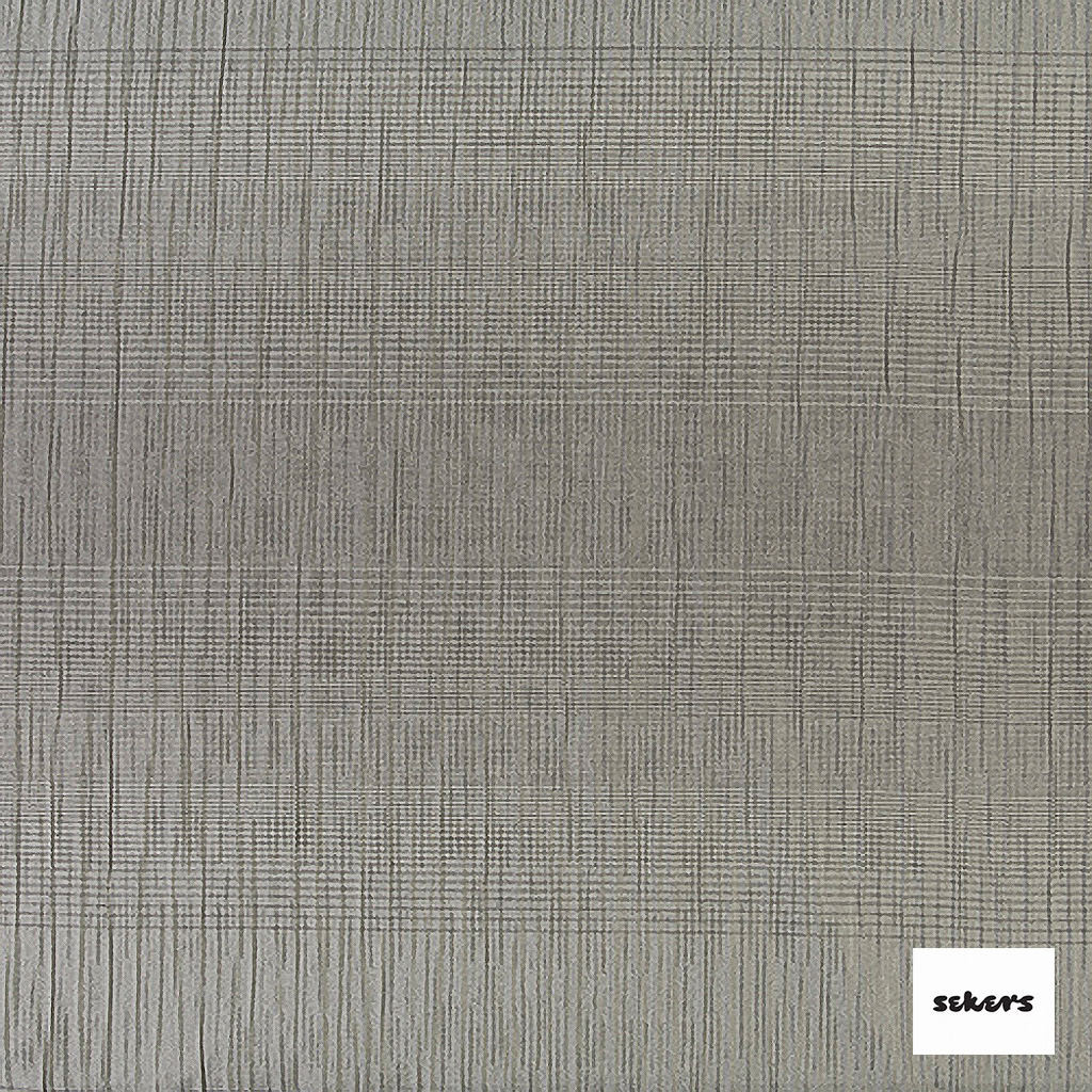 Sekers Zelos 140cm - Silver  | Curtain Fabric - Contemporary, Stripe, Uncoated, Silver, Fibre Blend, Standard Width