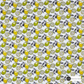 Maurice Kain Zest 138cm - Mojito  | Curtain Fabric - Green, Contemporary, Floral, Garden, Botantical, Uncoated, Kitchen, Natural, Pattern, Print