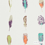 Harlequin Limosa 111073  | Wallpaper, Wallcovering - Fire Retardant, Blue, Contemporary, Animals, Fauna, Feathers