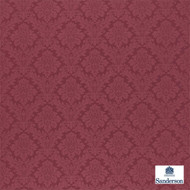 Sanderson Lymington Damask 232600  | Upholstery Fabric - Red, Traditional, Damask, Natural, Natural Fibre, Standard Width