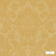 Zoffany Crivelli ZCDW02004  | Wallpaper, Wallcovering - Fire Retardant, Gold, Yellow, Traditional, Damask