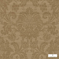 Zoffany Crivelli ZCDW02007  | Wallpaper, Wallcovering - Fire Retardant, Brown, Traditional, Damask