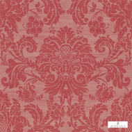 Zoffany Crivelli ZCDW02010  | Wallpaper, Wallcovering - Fire Retardant, Red, Traditional, Damask