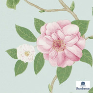 Sanderson Christabel 213378  | Wallpaper, Wallcovering - Floral, Garden, Commercial Use