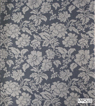 Unique Fabrics Westminster Dandy - Charcoal  | Curtain & Upholstery fabric - Grey, Floral, Garden, Botantical, Natural, Natural Fibre, Standard Width