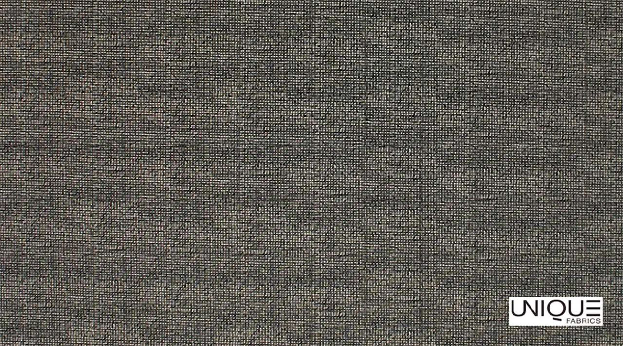 Unique Fabrics Zambesi Molo - Stone  | Curtain & Upholstery fabric - Black, Charcoal, Natural, Plain, Natural Fibre, Standard Width