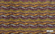 Ardecora Les Annees Folles Opium - 15331.477  | Curtain Fabric - Contemporary, Natural Fibre, Pink, Purple, Stripe, Natural, Standard Width