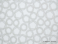 Zimmer and Rohde Symphony Orla - 10636.990  | Curtain & Upholstery fabric - Grey, Wide-Width, Eclectic, Transitional, Honeycomb