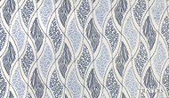Travers New Classics Safari Skin - 44105.386  | Curtain & Upholstery fabric - Blue, Eclectic, Fibre Blend, Standard Width