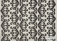Unique Fabrics Santa Fe - Ginger Spice  | Curtain Fabric - Black, Charcoal, Mediterranean, Kilim, Natural, Southwestern, Natural Fibre