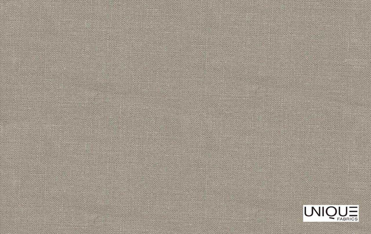 Unique Fabrics Linen Library Sao Polo - Ebony  | Curtain & Upholstery fabric - Tan, Taupe, Transitional, Natural, Natural Fibre, Standard Width