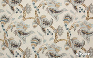 Travers Yorkshire Yorkshire - 44090/387  | Curtain Fabric - Brown, Craftsman, Fibre Blends, Floral, Garden, Jacobean, Traditional, Standard Width