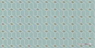 HOOKEDONWALLS Favourite Twist Fav Twist 76051, 76053 - 76051  | - Blue, Turquoise, Teal, Geometric, Small Scale