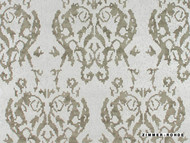 Zimmer and Rohde Treasure Planet Ornament - 50027/888  | Wallpaper, Wallcovering - Vinyl, Ikat, Mediterranean, Traditional, Whites, Damask