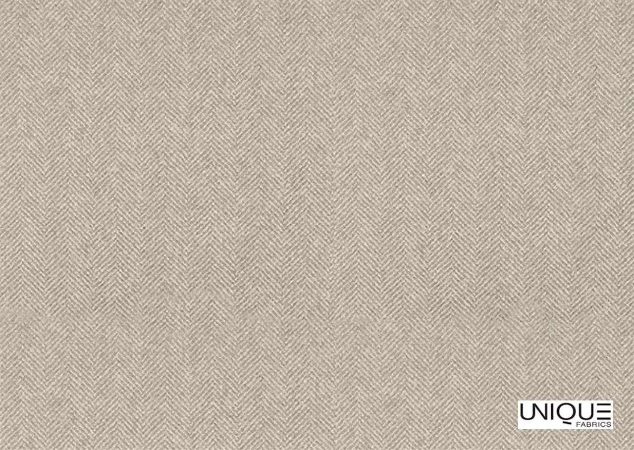 Unique Fabrics Linen Library Alberon - Ivory    Curtain & Upholstery fabric - Tan, Taupe, Transitional, Whites, Herringbone, Natural, Natural Fibre