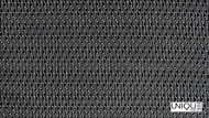 Unique Fabrics Outlines Circuit - Chalk  | Upholstery Fabric - Black - Charcoal, Geometric, Midcentury, Outdoor Use, Synthetic, Domestic Use, Standard Width