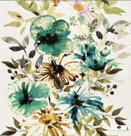 Chivasso Living Flowers Of Paradise - CH2721/030  | Curtain & Upholstery fabric - Fibre Blends, Floral, Garden, Traditional, Domestic Use, Standard Width
