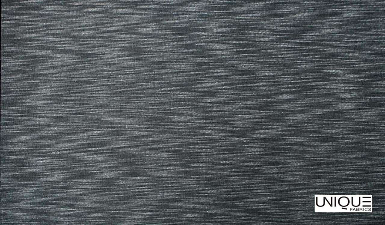 Unique Fabrics Westminster Heath - Granite  | Curtain & Upholstery fabric - Black, Charcoal, Transitional, Industrial, Natural, Natural Fibre