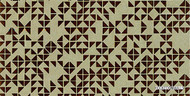 HOOKEDONWALLS Favourite Twist Fav Twist 76040, 76043 - 76040  | - Brown, Geometric, Small Scale