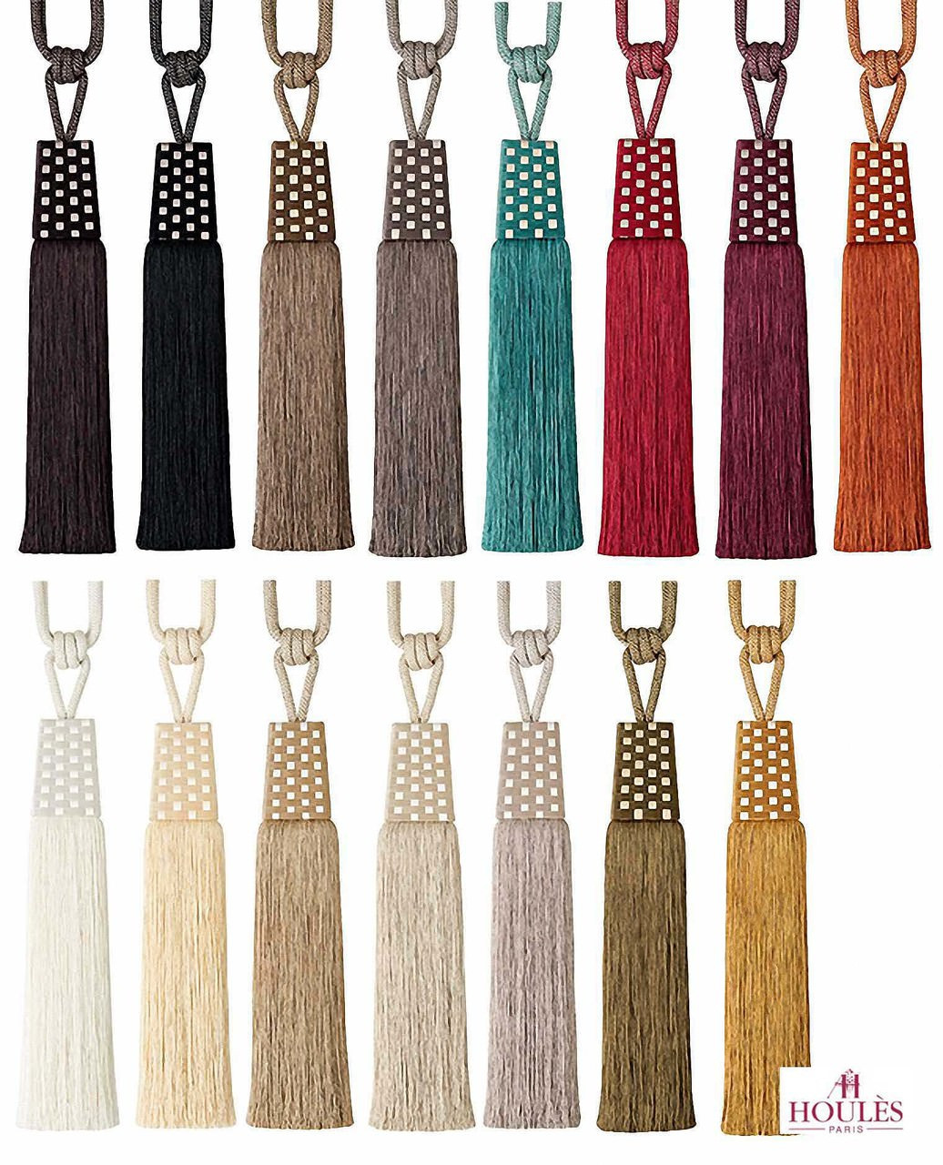 Houles Gallery 35757 Gallery Tieback - 35757.9000  | Tie back, Curtain Accessory - Contemporary, Trimmings, Tie-Back, Fibre Blend
