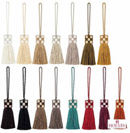 Houles Gallery 35758 Gallery Keytassel - 35758.9000  | Key Tassel, Curtain & Upholstery, Trim - Contemporary, Trimmings, Key Tassel, Fibre Blend