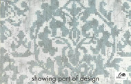 Cetec Shades Of Comfort Bohemian - 1099005718  | Curtain Fabric - Blue, Grey, Floral, Garden, Botantical, Traditional, Whites, Craftsman, Damask