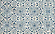 Travers Spring 2012 Floral Sphere - 40105.386  | Curtain Fabric - Blue, Floral, Garden, Botantical, Traditional, Eclectic, Craftsman, Damask, Natural