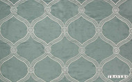 Travers New Classics Floral Trellis - 44111.598  | Curtain & Upholstery fabric - Green, Mediterranean, Moroccan, Natural, Ogee, Natural Fibre