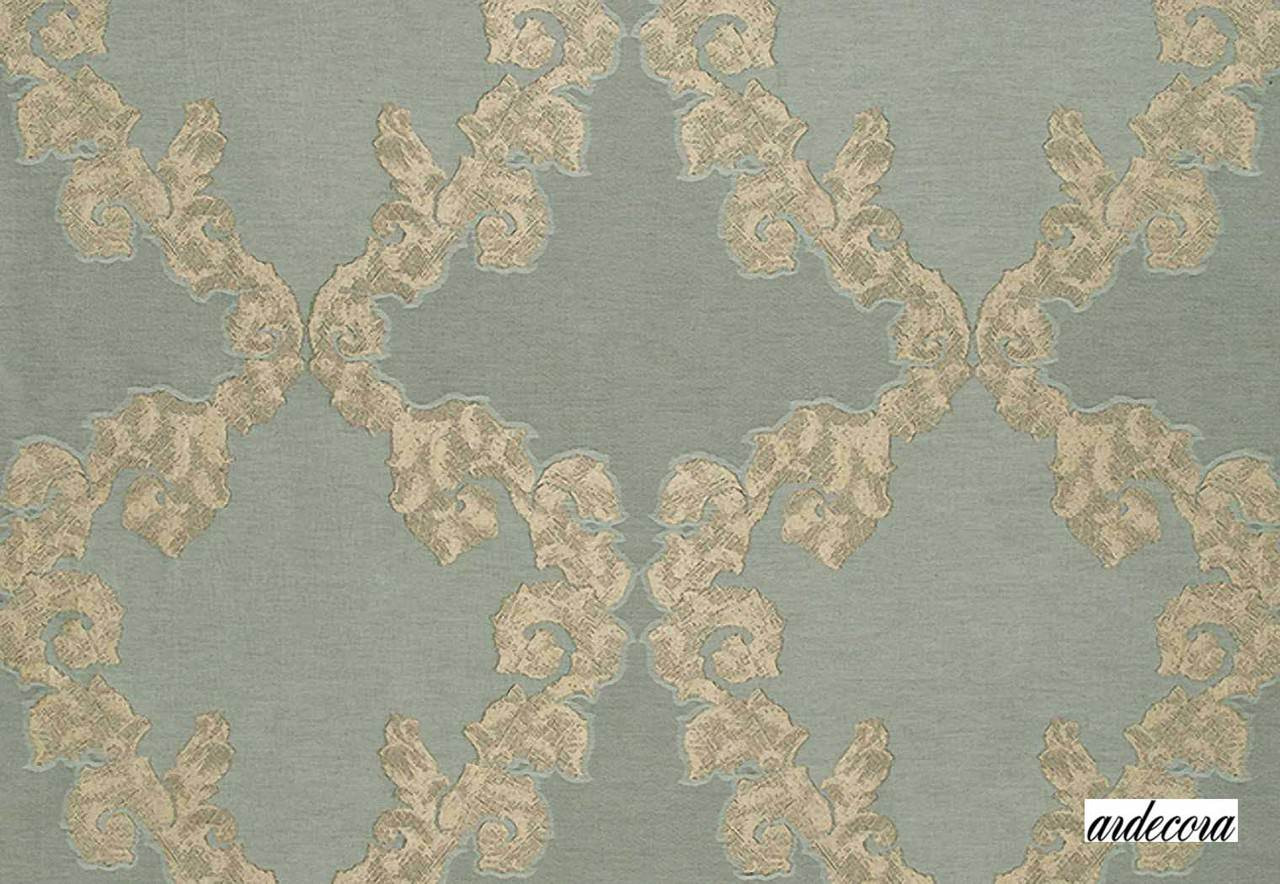 Ardecora Mille E Una Notte Respiro - 15345/684    Curtain Fabric - Beige, Damask, Synthetic, Traditional, Standard Width