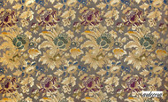 Ardecora La Traviata Finale - 15361/948  | Curtain Fabric - Brown, Floral, Garden, Botantical, Traditional, Art Nouveau, Craftsman, Damask