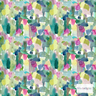 Bluebellgray Wee Rothesay Wallpaper - Multi  | Wallpaper, Wallcovering - Blue, Green, Pink, Purple, Abstract, Decorative, Pattern, Fibre Blend