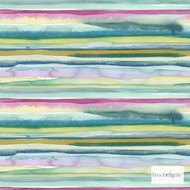 Bluebellgray Lomond - Multi  | Curtain & Upholstery fabric - Blue, Deco, Decorative, Multi-Coloured, Natural Fibre, Pink, Purple, Stripe, Abstract, Domestic Use, Dry Clean